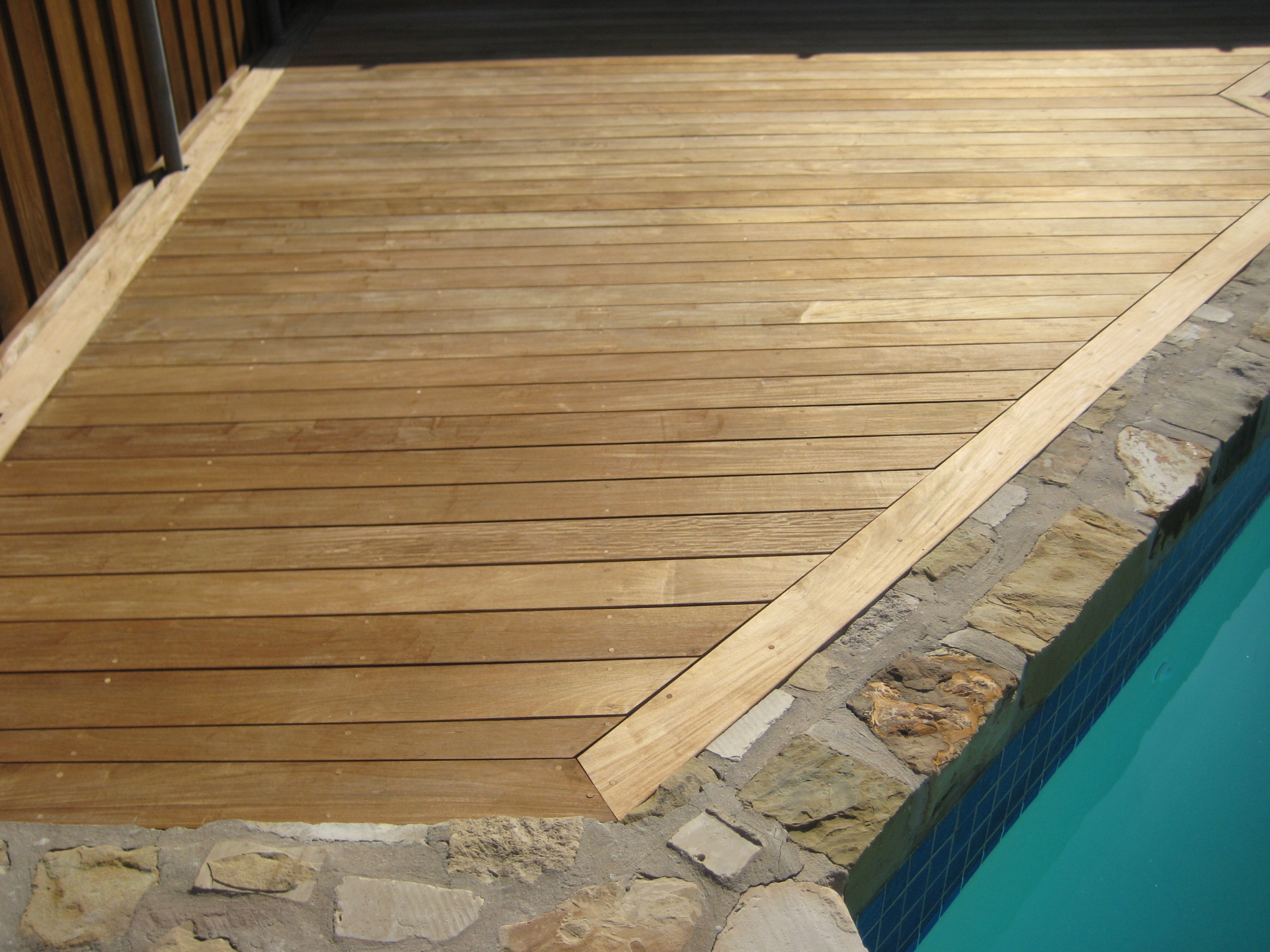 How to clean an ipe deck or other wood deck edeck inc blog for What is the best wood for decking